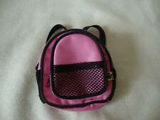Build A Bear -Back Pack - For Bears Or Dolls - Pink - Preowned