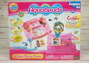 Aquabeads Ultimate Design Studio Playset New, Factory Sealed Box - Fast Shipping