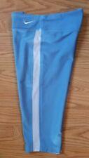 Girl's Nike Dri-Fit Legend Tight Stretch Training Blue Capri 546096-462 Sz Small