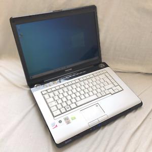 Toshiba Satellite A200 - Windows 10 Laptop - 1.66Ghz Dual Core 200GB HDD, 2GB