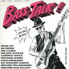 Bass-Talk! LP 1989 Hot Wire Rare German Jazz Rock Hattler Itt  Kai Eckhardt Cott