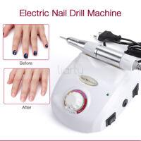 30000RPM 30W Electric Nail Art Drill File Pedicure Manicure Nail Gel Machine