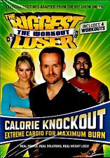 NEW DVD // FITNESS  // The Biggest Loser: The Workout -  CALORIE KNOCKOUT
