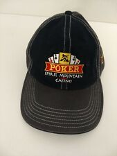 Spirit Mountain Casino Poker Gambling Hat Black/Grey