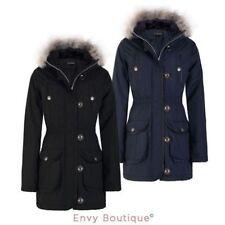 Manteaux, vestes et tenues de neige avec capuche manches longues en fourrure pour fille de 2 à 16 ans