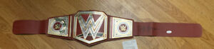 HULK HOGAN Autographed Signed Championship Pro Wrestling Red Belt Witness JSA