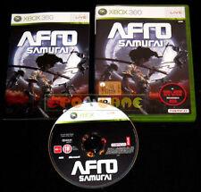 AFRO SAMURAI XBOX 360 XBOX 360 Versione Italiana 1ª Edizione ••••• COMPLETO
