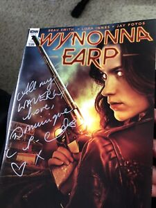 Wynonna Earp Comic IDW Autographed By Dominique Provost-Chalkley