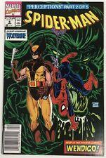 1991 Spider-Man #9 Wolverine 1991 Marvel Comics