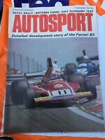 VINTAGE AUTOSPORT MAGAZINE MAG AUGUST 1974 F1 RACING CARS