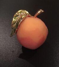"Estee Lauder Solid Perfume Compact ""Perfect Peach"" Original Perfume 2000 Full"