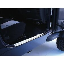 Jeep Wrangler TJ Stainless Steel Entry Guards 1997-2006 11119.03 Rugged Ridge