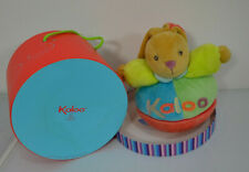 Rare Musical Kaloo Chubby Bunny Multi colour (stained box) New