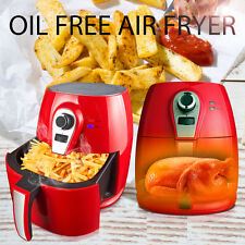 1400W Red Electric Air Fryer Low-Fat Multi-Cooker Rapid Air Technology Actifry