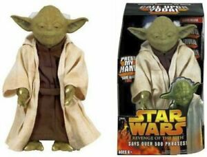 Star Wars REVENGE OF THE SITH Interactive Storytelling YODA says 500 phrases