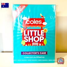 Coles Little Shop 1 - CASE only - RARE NEW and SEALED