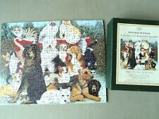 Optimago Hand Cut Wooden Jigsaw Puzzle 150 pieces 'Family Portrait' Cats & Dogs