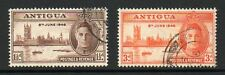 Antigua 1946 Victory fine used set Stamps