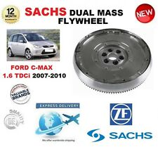 Pour Ford C-Max DM2 1.6 TDCI 90bhp 109bhp 2007-2010 Sachs Dmf Double Mass Volant