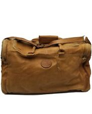 Vintage Columbian Bags Co. Hand Crafted Leather Duffle Bag