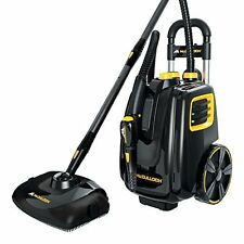 Deluxe Canister Steam System Carpet Cleaner Deep Clean Vacuum