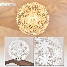 Lampe suspension blanche Lustre Lampe pendante Métal/Plastique Plafonnier Design