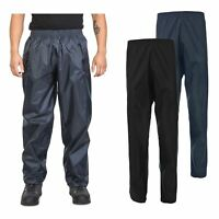 Trespass Mens Waterproof Trousers Walking Hiking Windproof Carbondale