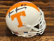Jauan Jennings Signed Tennessee Volunteers Vols Mini Helmet Authentic