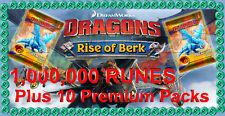I draghi: aumento di Berk milioni di rune e 10 CARD PACK tradiscono pacchetto Android IOS