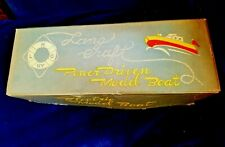 """Vintage Lang Craft Powered Model Boat """"BOX TOP ONLY"""" for 818/911 Ray Rohr Estate"""