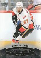 2015-16 Upper Deck Overtime Hockey #59 Emile Poirier RC Calgary Flames