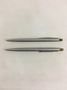 Parker Classic Stainless Steel Ball Point & Mechanical Pencil 0.5 mm