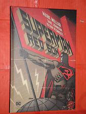 SUPERMAN CARTONATO RED SON -FORMATO GRANDE LION-DI MARK MILLAR E DAVE JOHNSON