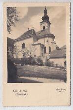 AK Wien XIII, Ober St. Veit, Kirche, Foto-AK 1937