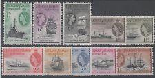 Falkland Island Colony Ships, Boats Stamps