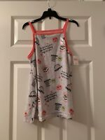 Justice Girls Camping Tank Top Size 16