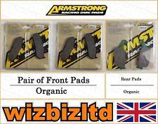 Armstrong Complete Brake Pad Kit Honda CBR 250 (MC17) 1987 BK111945