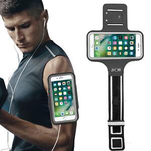 Sports Armband Gym Running Jogging Exercise Arm Band Key Bag Phone Holder Case