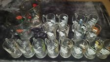 Schmidt Beer Collector Set Mugs and Pitchers *Complete Set*