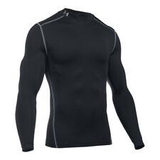 Magliette da uomo a manica lunga nero Under armour
