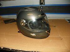 Scorpion EXO 500 full face helmet silver motorcycle XL