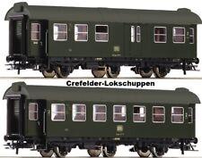 Roco 54291+54293 2 Vagone 2° Classe+gepaeckab.Auf Scelta Cambio Asse Märklin