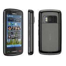Brand New Nokia C6-01 3G Unlocked Black GPS 3G 5MP Camera Sim Free Smartphone