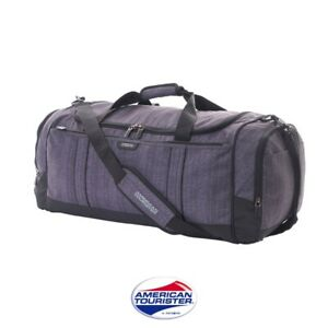 45L Gym Duffel Bags Travel Waterproof Fitness Shoes Compartment Shoulder Strap
