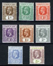 Multiple George V (1910-1936) Leeward Islands Stamps
