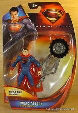 "SUPER POWERS DC Mattel Classic SUPERMAN Figure 3.75"" NEW MOC Universe!"