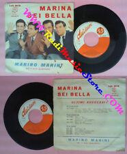 LP 45 7'' MARINO MARINI E IL SUO QUARTETTO Marina Sei bella 1959 no cd mc vhs