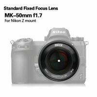 Meike 50mmF/1.7 Standard Fixed Focus Lens For Nikon Z6 Z7 Cameras Micro single