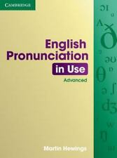 English Pronunciation in Use Advanced with Answers (Paperback or Softback)