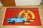 Fahne Flagge DDR Ich bin ein echter Ossi Flagge - 90 x 150 cm
